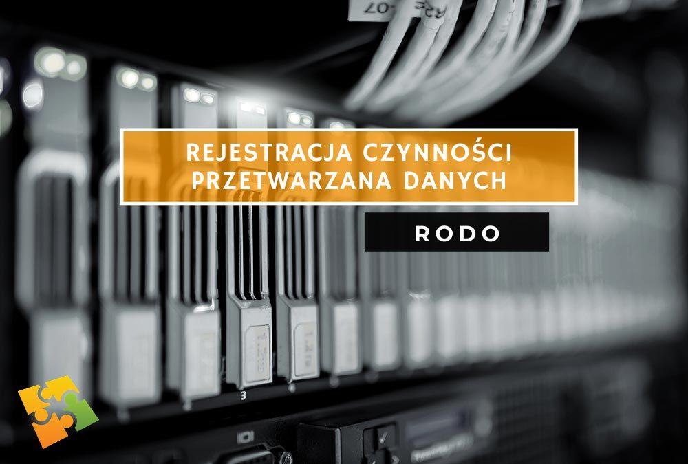Rejestrowanie czynności przetwarzania danych